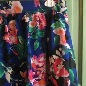 NEW $18 Forever 21 High Lo Floral Skirt